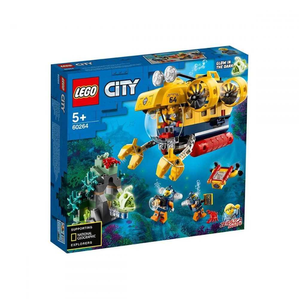 LEGO® City Oceans 60264 – Изследователска подводница