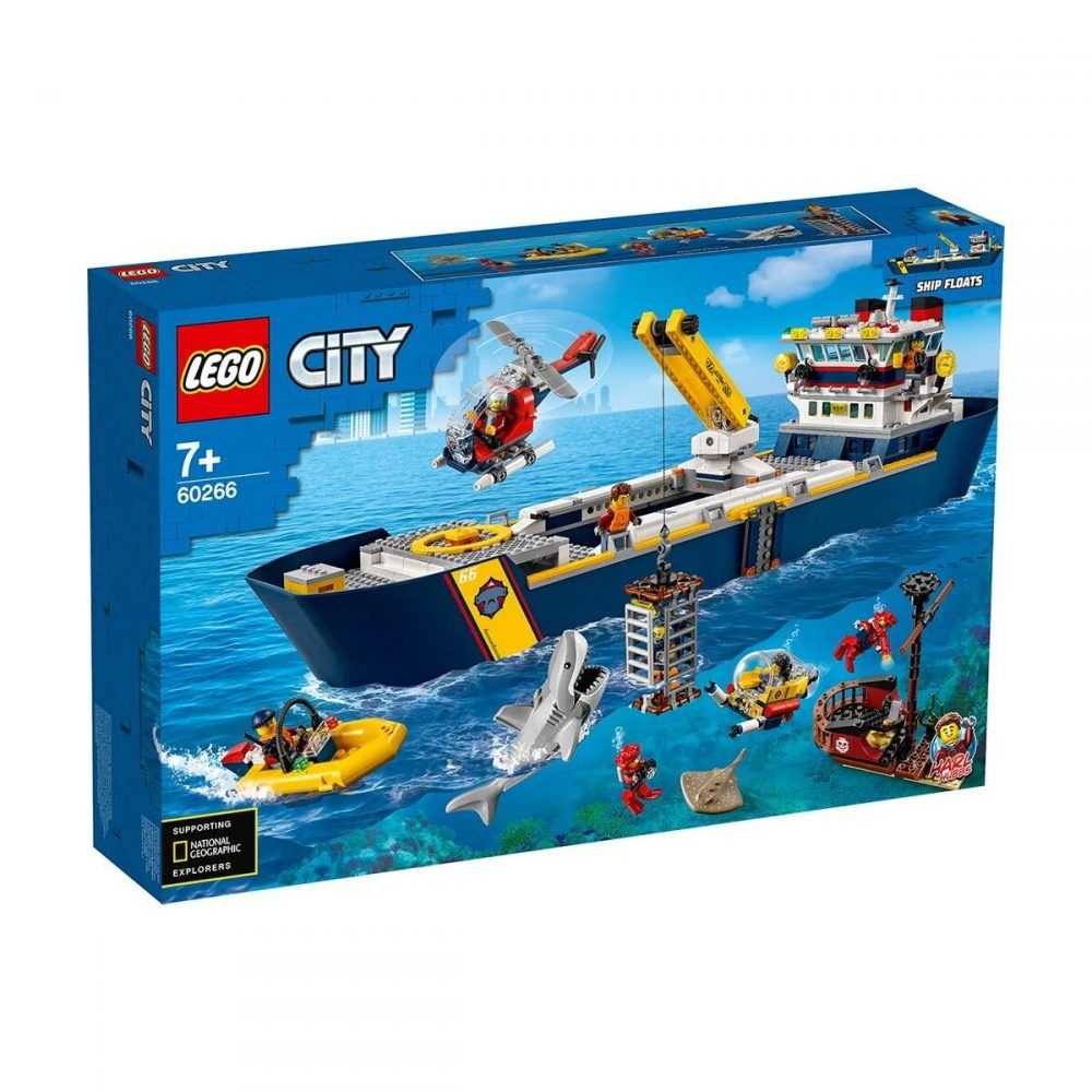LEGO® City Oceans 60266 – Изследователски кораб