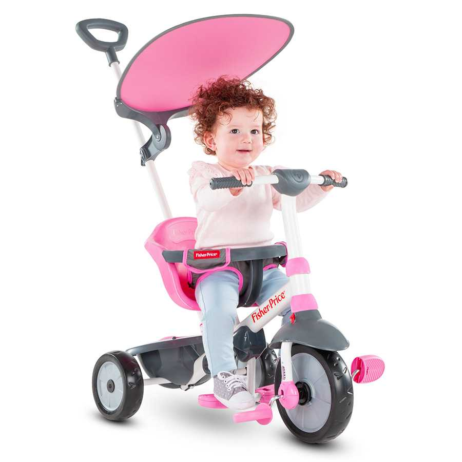 Триколка smarTrike – Fisher Price, розова