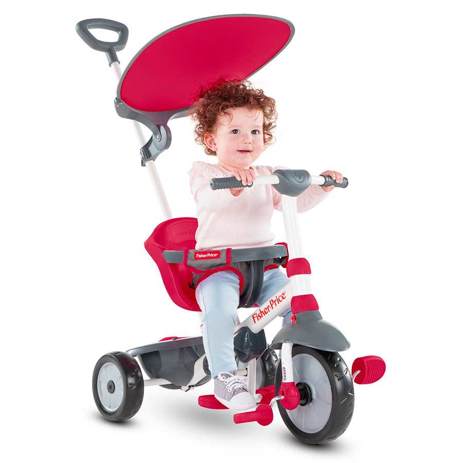 Триколка smarTrike – Fisher Price, червена