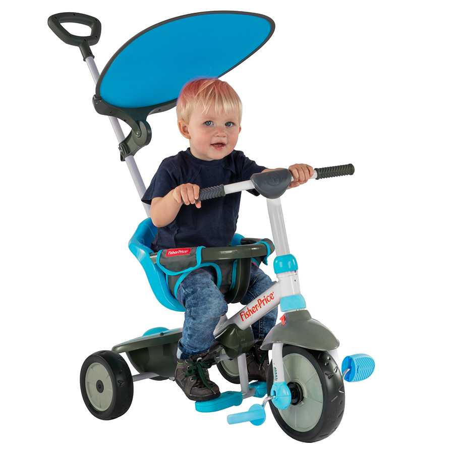 Триколка smarTrike – Fisher Price, синя