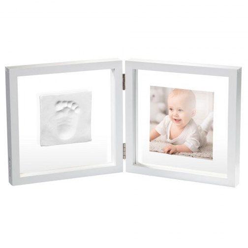 BABY ART Бяла рамка за отпечатък и снимка My Baby Style, прозрачно паспарту