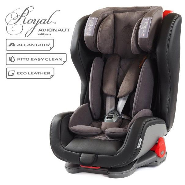 Столче за кола Avionaut Evolvair Royal L.01, 9-36 кг, Черно
