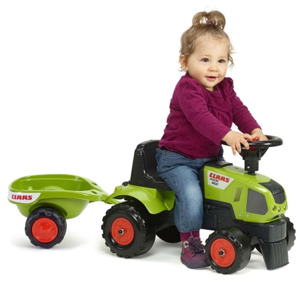 Бебешки трактор с ремарке Falk CLAAS