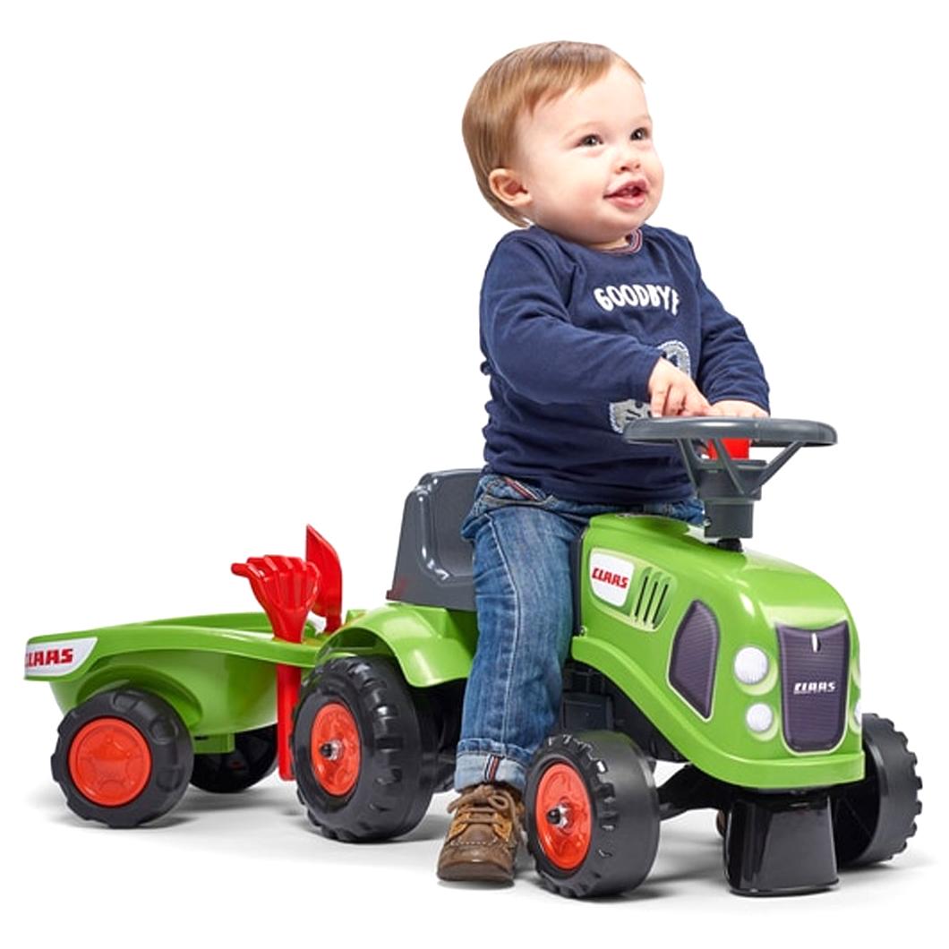 Бебешки трактор Flak CLAAS с аксесоари