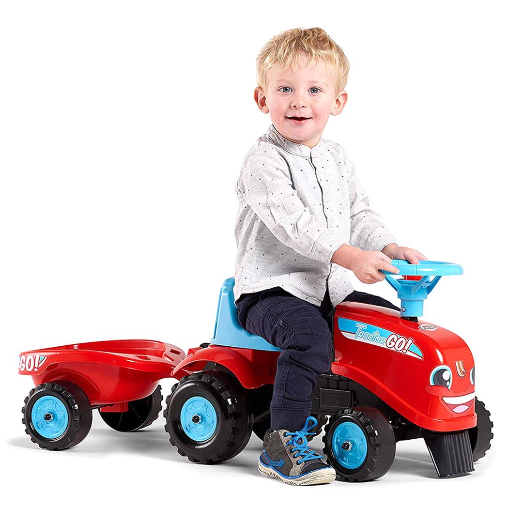 Бебешки трактор с ремарке Falk GO!