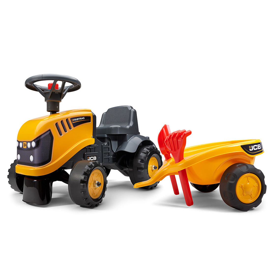 Бебешки трактор JCB с аксесоари