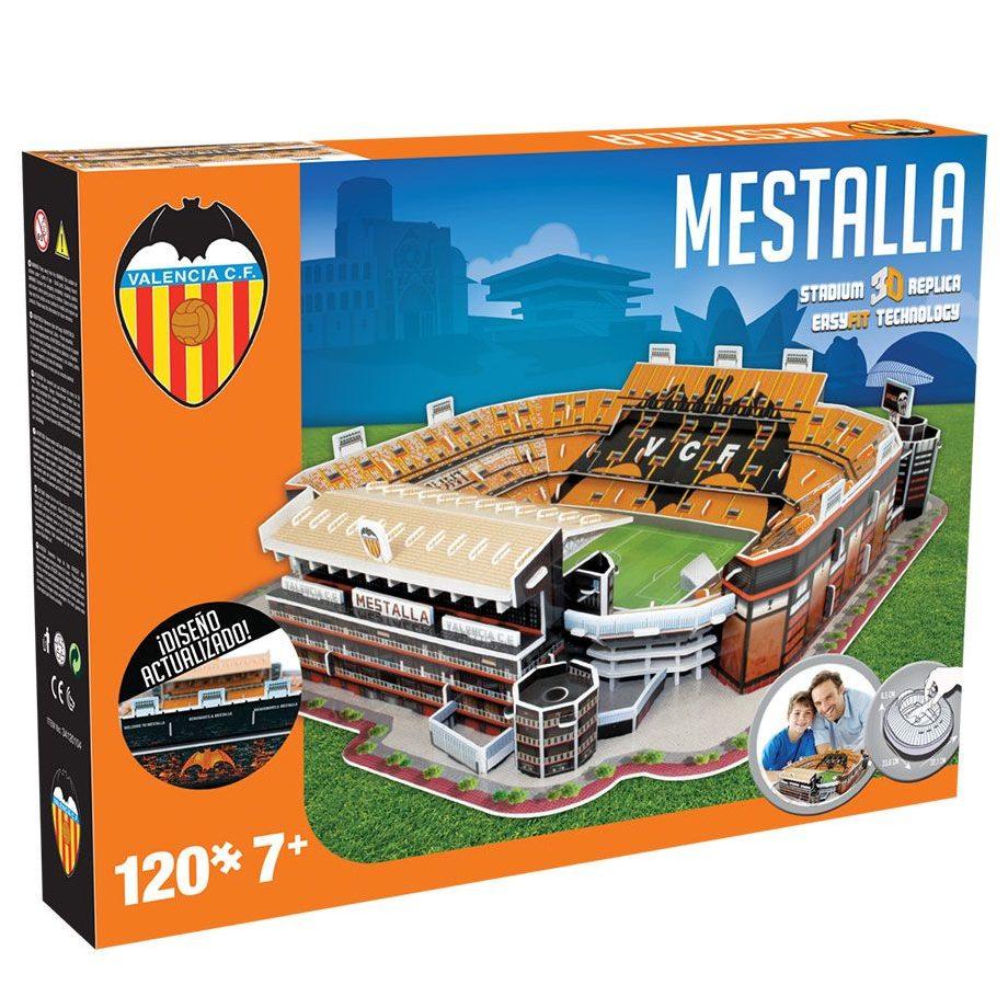 Пъзел 3D Стадион MESTALLA (VALENCIA C.F.)