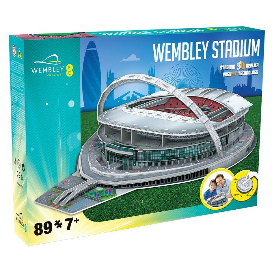Пъзел 3D Стадион WEMBLEY UK