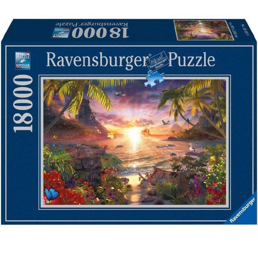 Пъзел Ravensburger 18000 елемента – Приказен залез