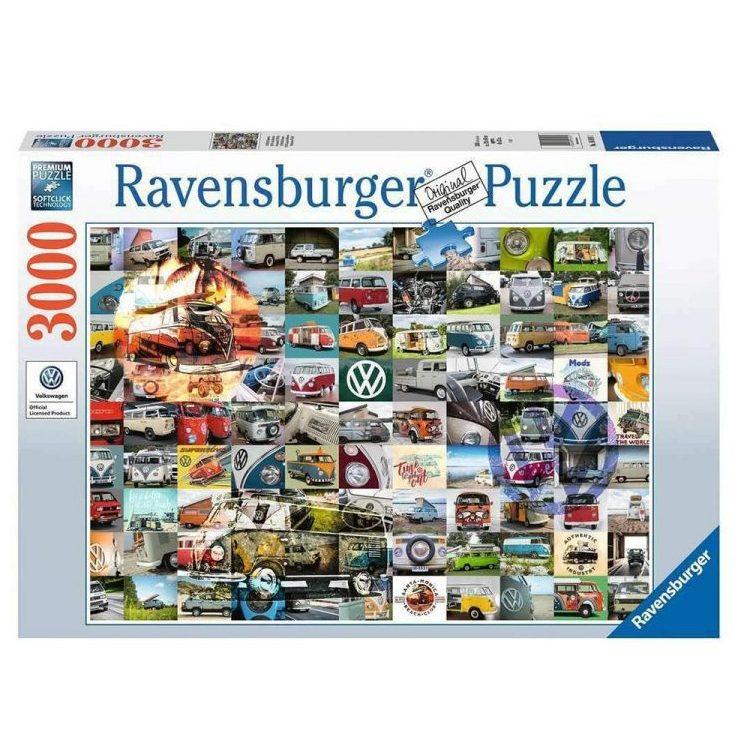 Пъзел Ravensburger 3000 ел. – Моменти от къмпингуване