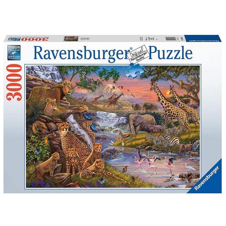 Пъзел Ravensburger 3000 ел. – Животинско царство