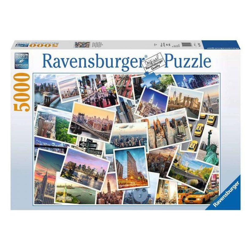 Пъзел Ravensburger 5000 ел. – Ню Йорк градът който никога не спи