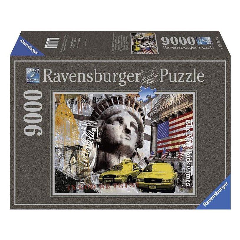 Пъзел Ravensburger 9000 ел. – Ню Йорк Сити