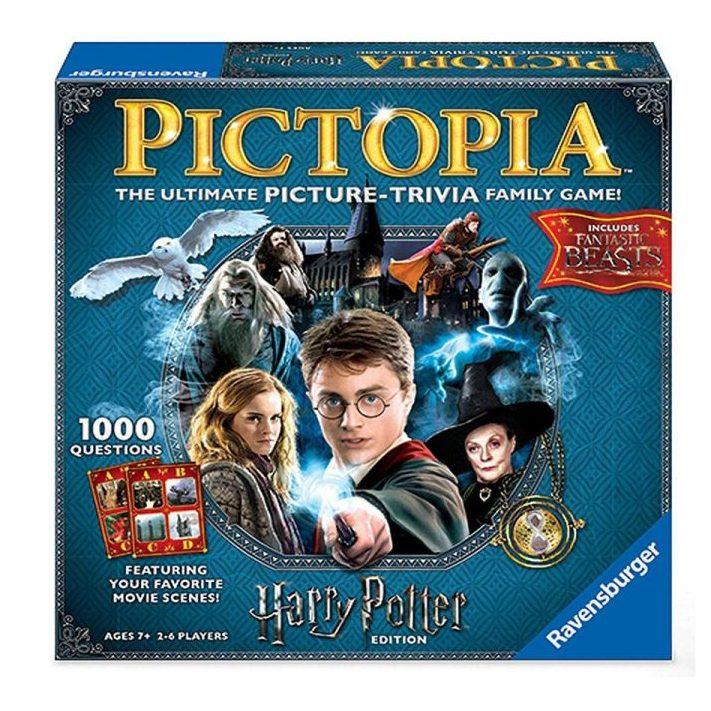 Настолна игра Ravensburger – Harry Potter Pictopia