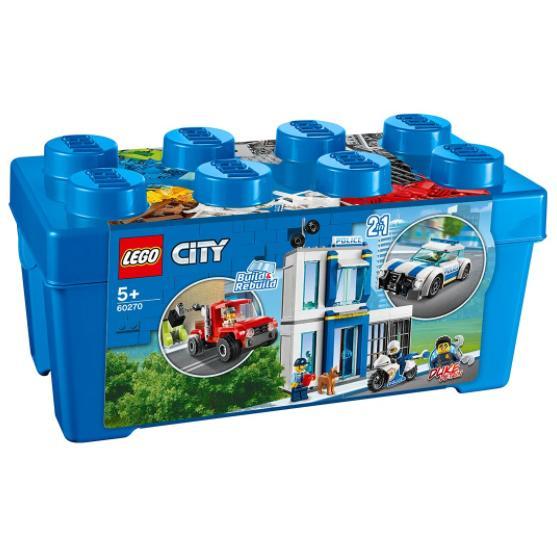LEGO® City Police 60270 – Полицейска кутия за тухлички