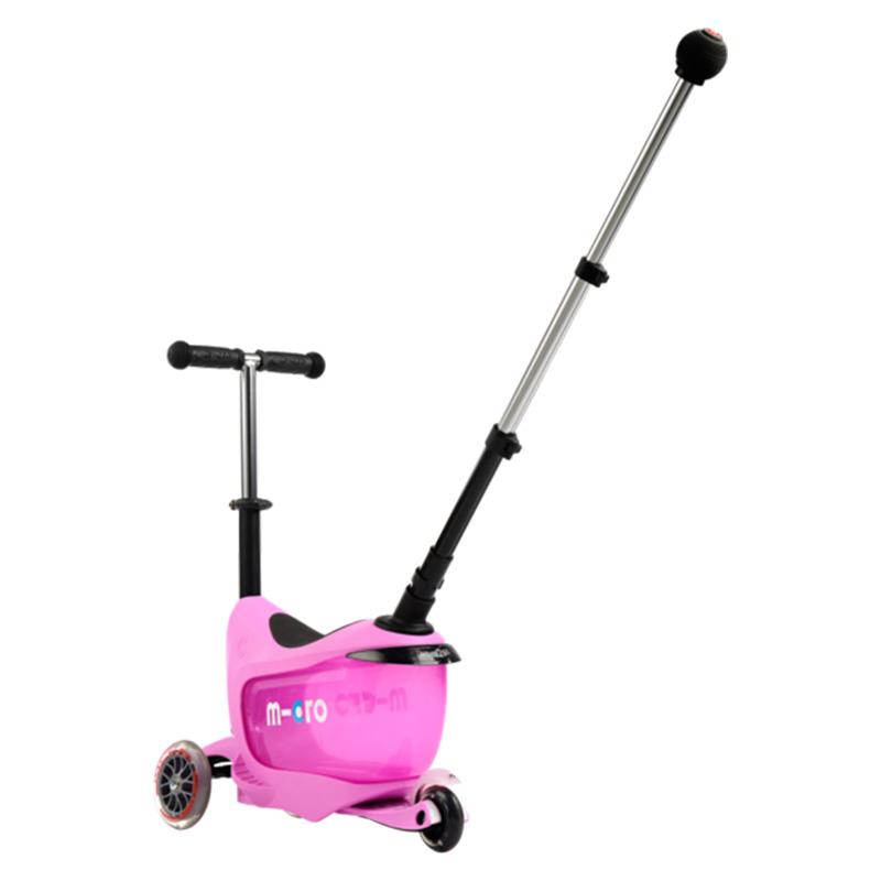 Тротинетка Micro – Mini 2go deluxe plus pink