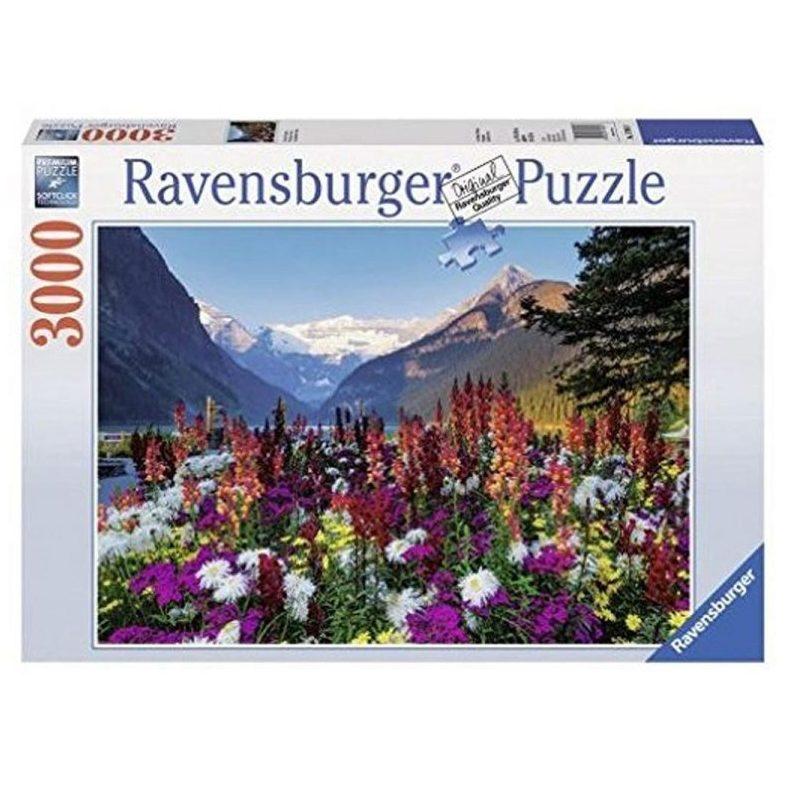 Пъзел Ravensburger 3000 ел. – Планини с цветя