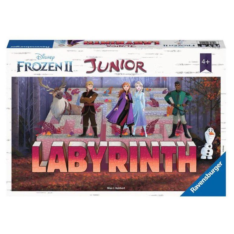 Настолна игра лабиринт джуниър Ravensburger – Замръзналото кралство 2