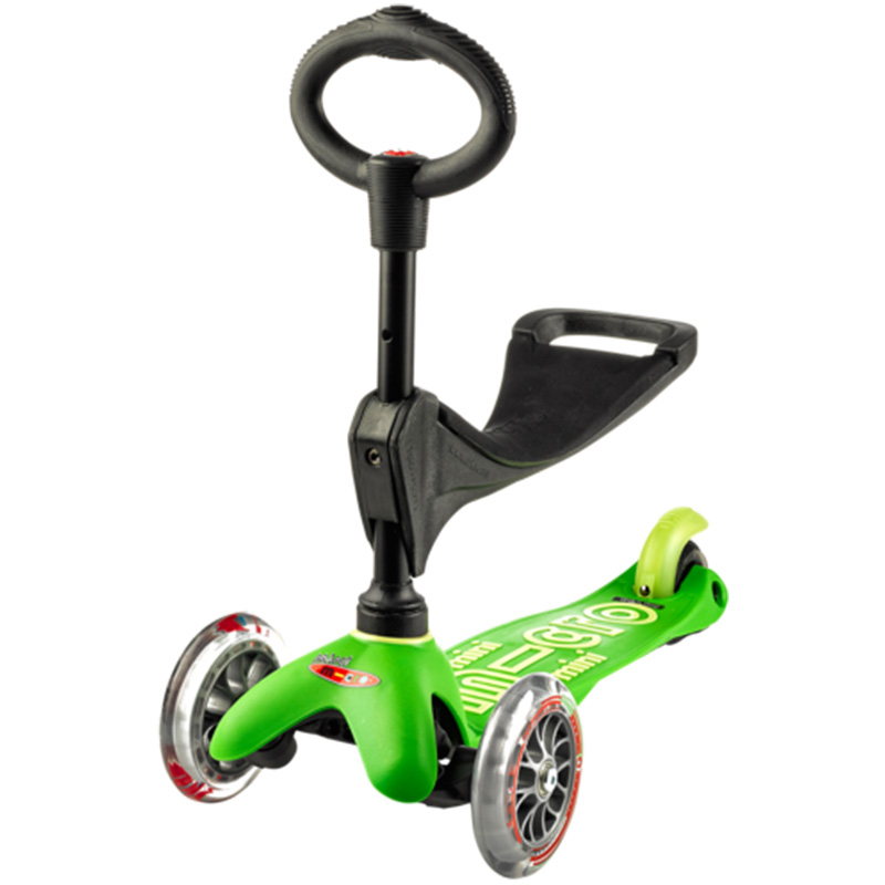 Тротинетка Micro – Mini Deluxe 3 in 1 green