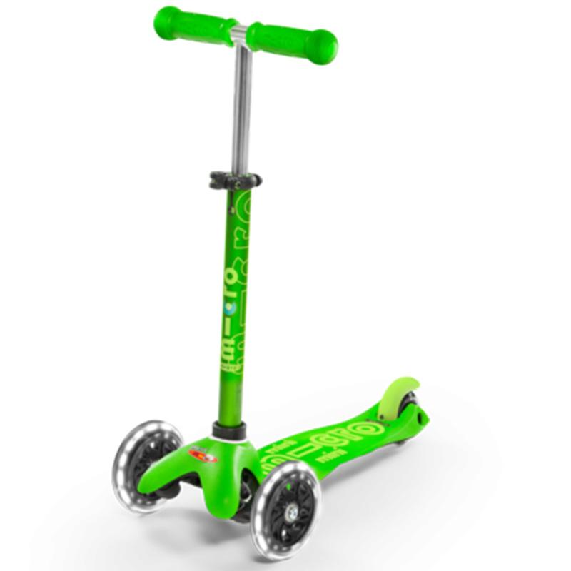 Тротинетка Micro – Mini Deluxe LED Green