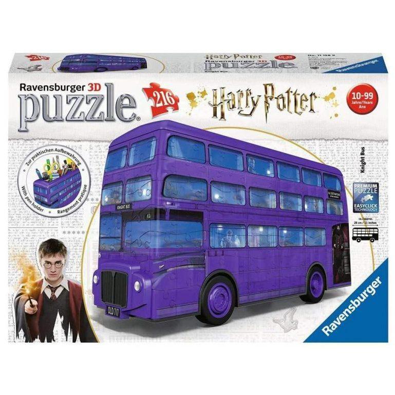 3D Пъзел Ravensburger 216 ел. – Автобусът на Хари Потър