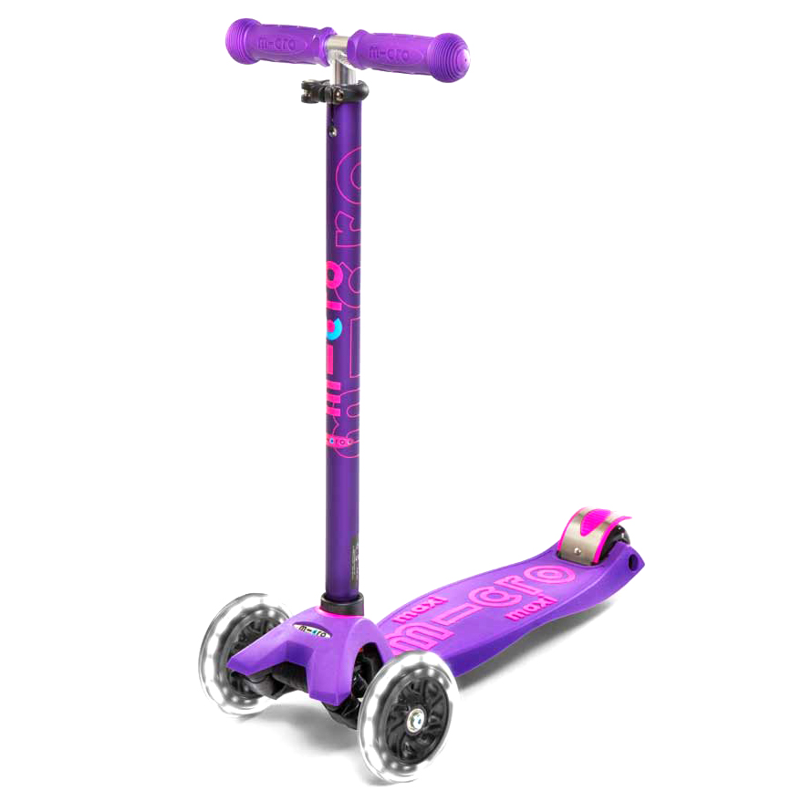 Тротинетка Micro – Maxi Deluxe LED Purple