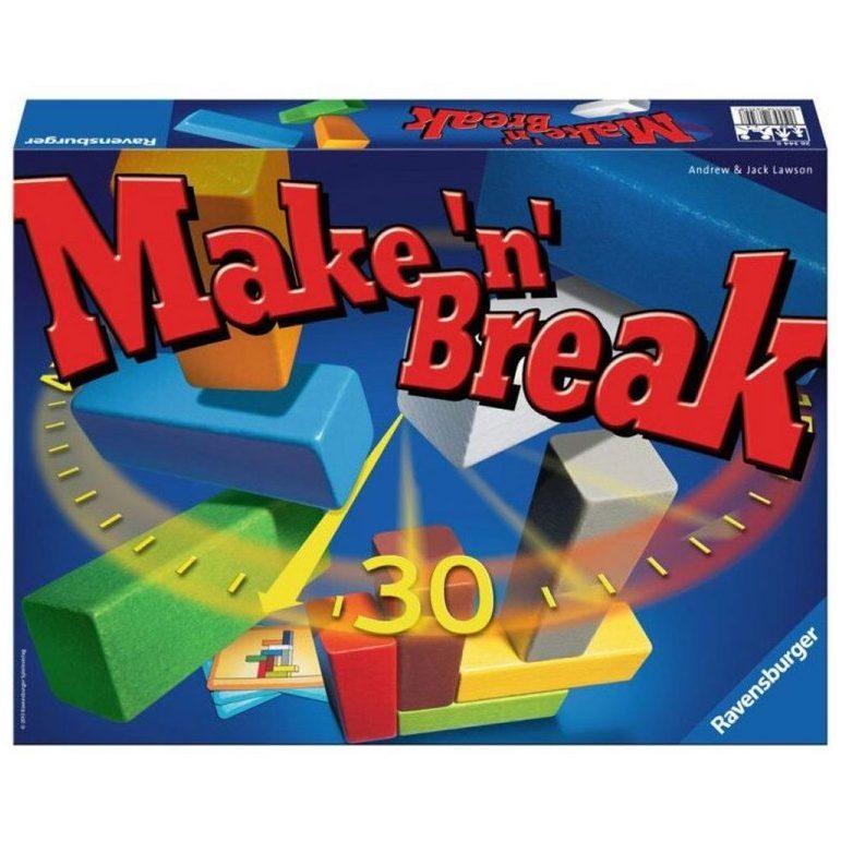Настолна игра Ravensburger – Make and Break