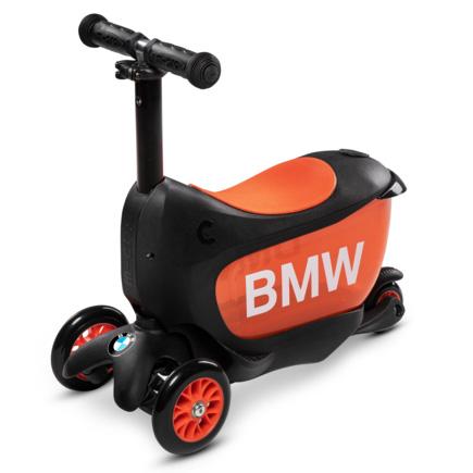 Тротинетка Micro – Mini 2 Go BMW Black/Orange Deluxe