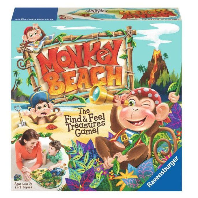 Игра Плажът на маймуните
