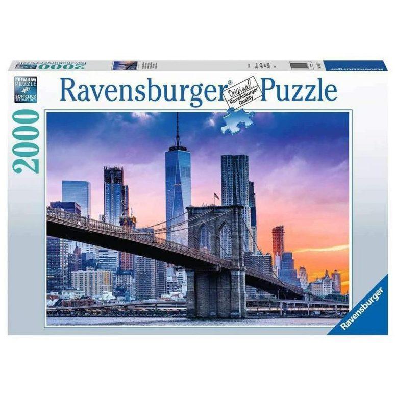 Пъзел Ravensburger 2000 ел. – Хоризонт в Ню Йорк