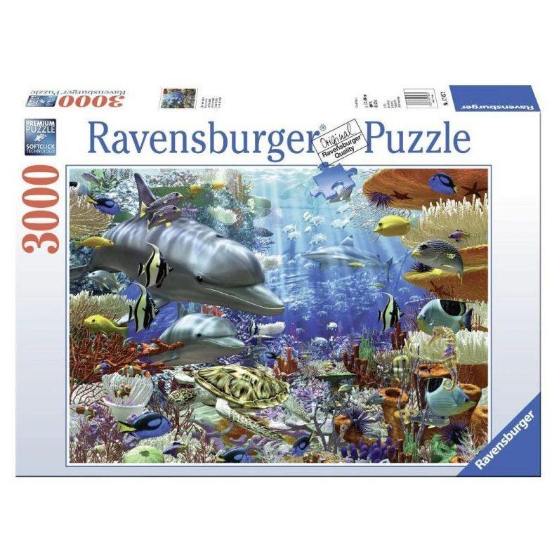 Пъзел Ravensburger 3000 ел. – Чудесата на океана