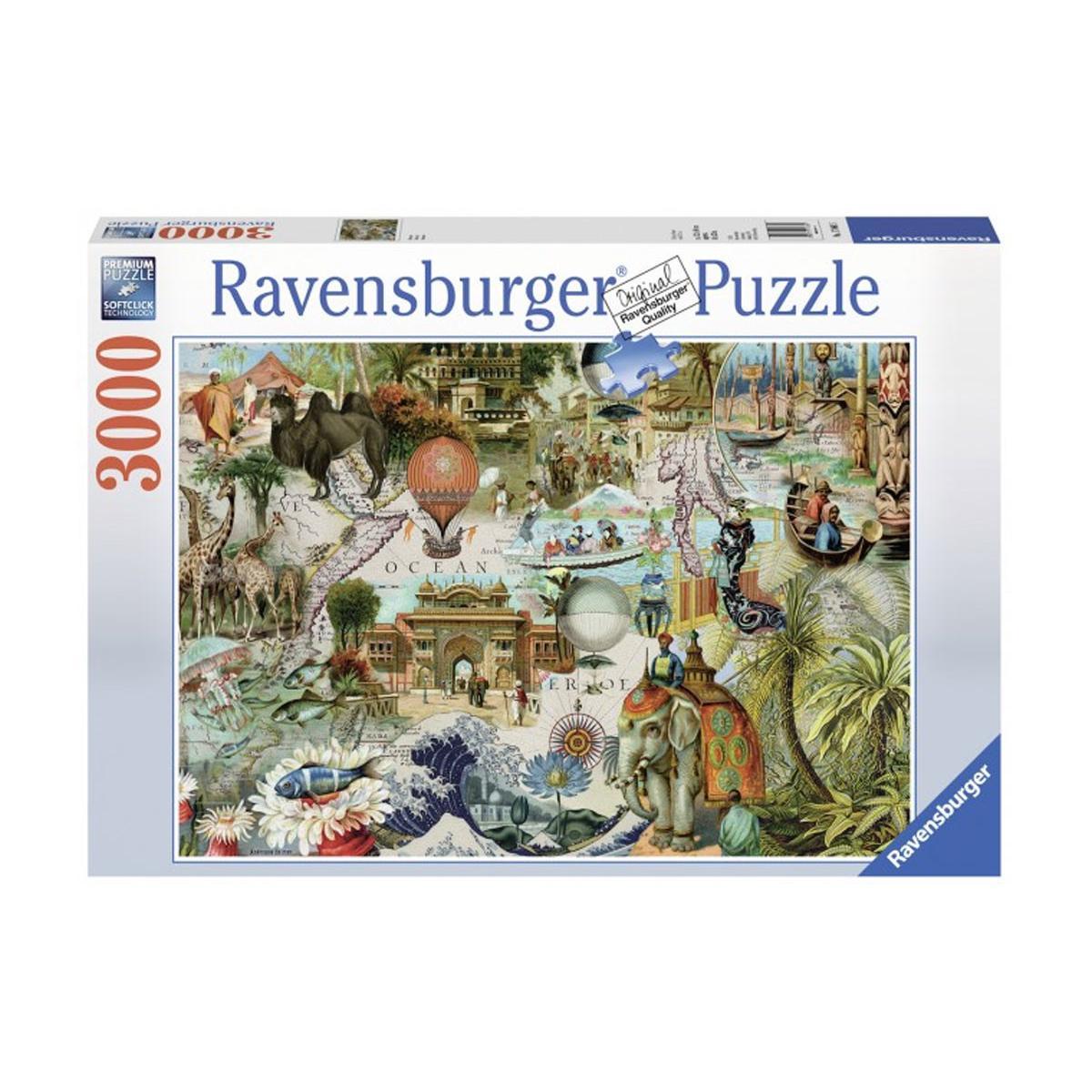 Пъзел Ravensburger 3000 ел. – Океания