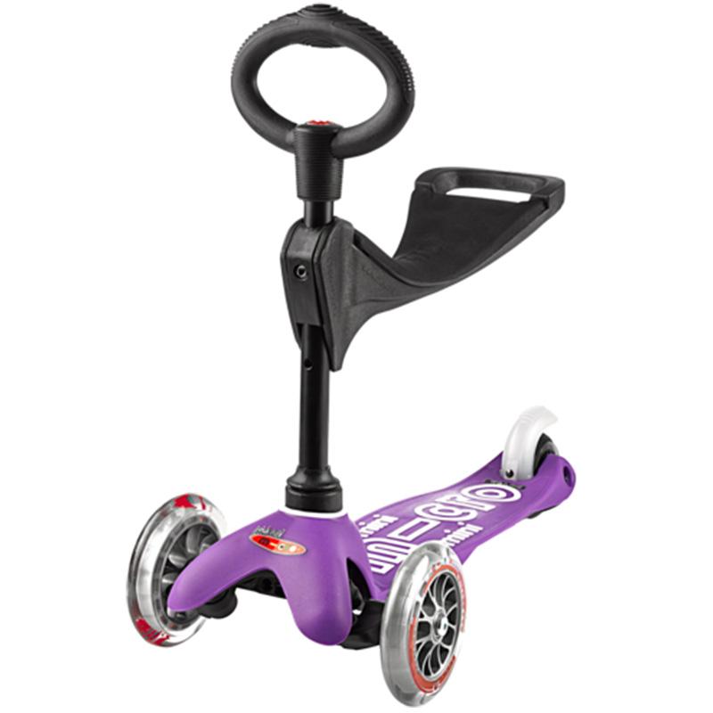 Тротинетка Micro – Mini Deluxe 3 in 1 purple
