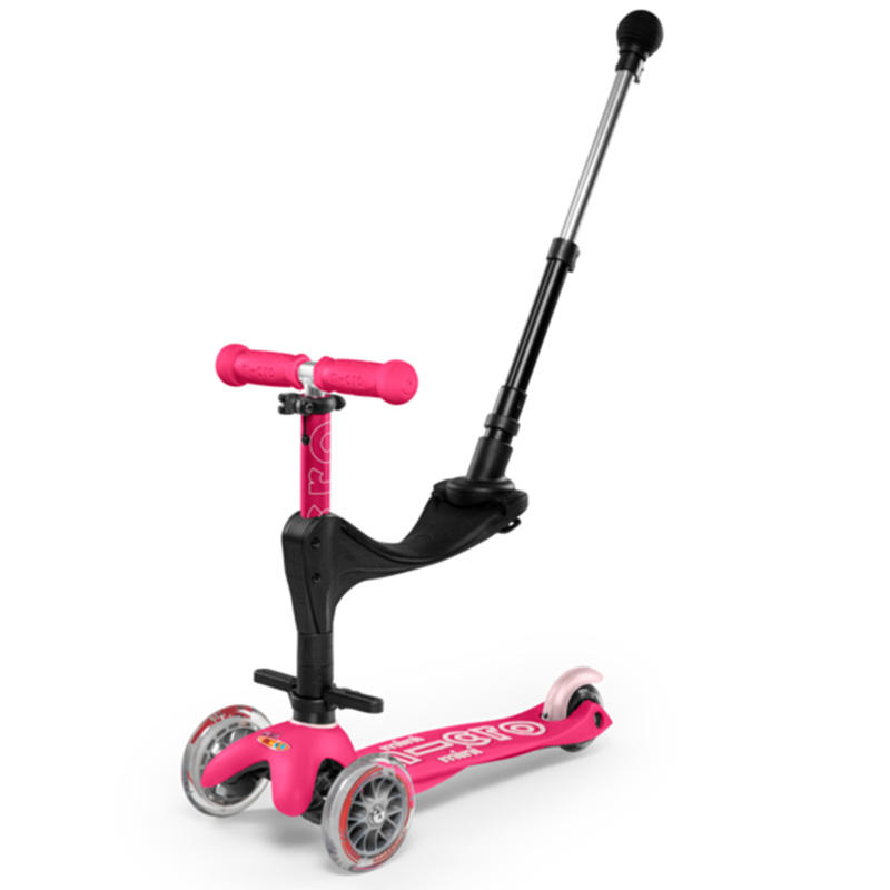 Тротинетка Micro Mini 3in1 Deluxe Plus Pink