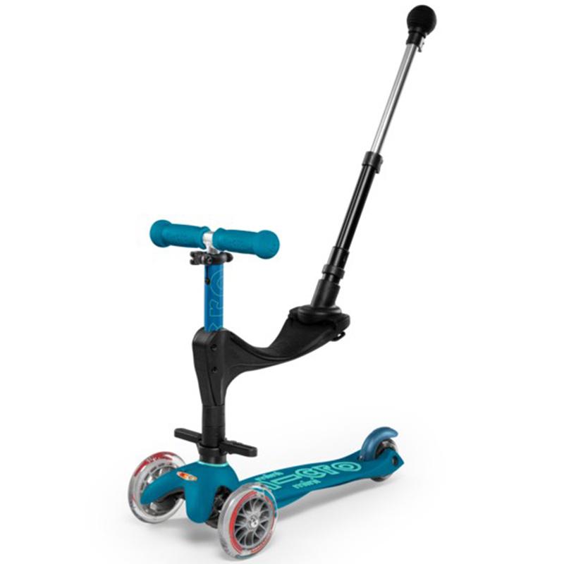 Тротинетка Micro Mini 3in1 Deluxe Plus Ice Blue