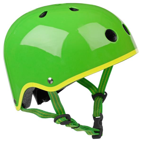 Каска за тротинетка green M