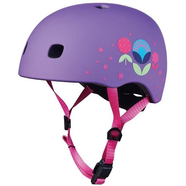 Каска за тротинетка Floral Purple M