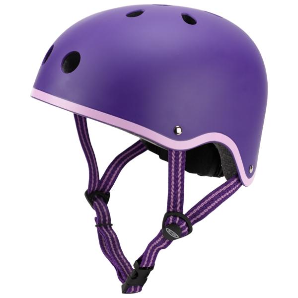 Каска за тротинетка purple S