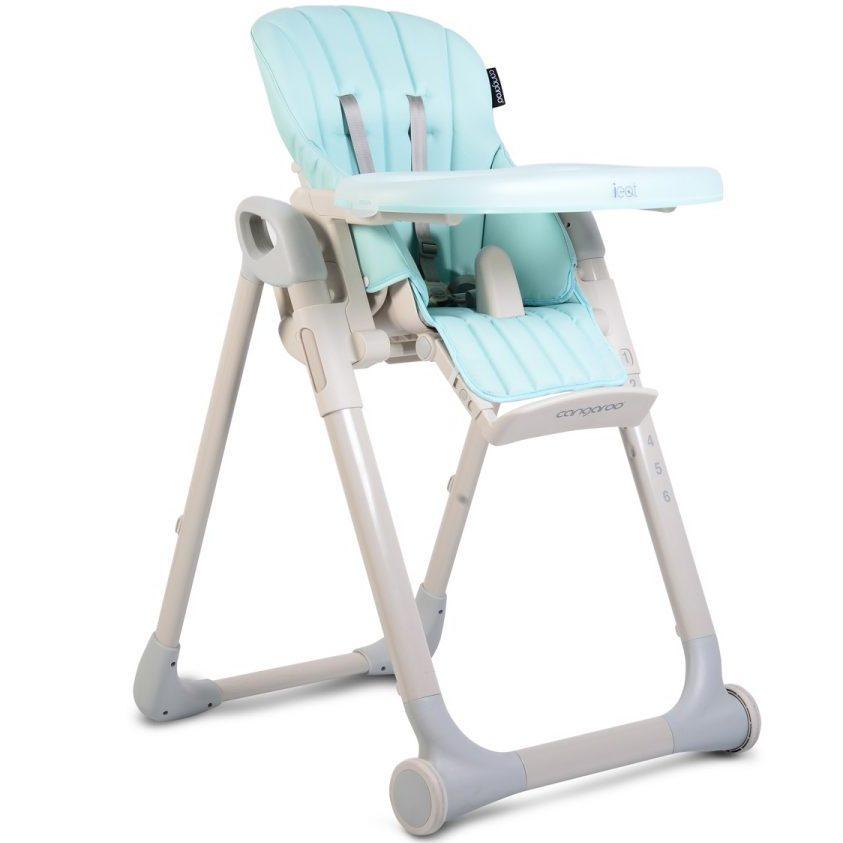 Детски стол за хранене I Eat син