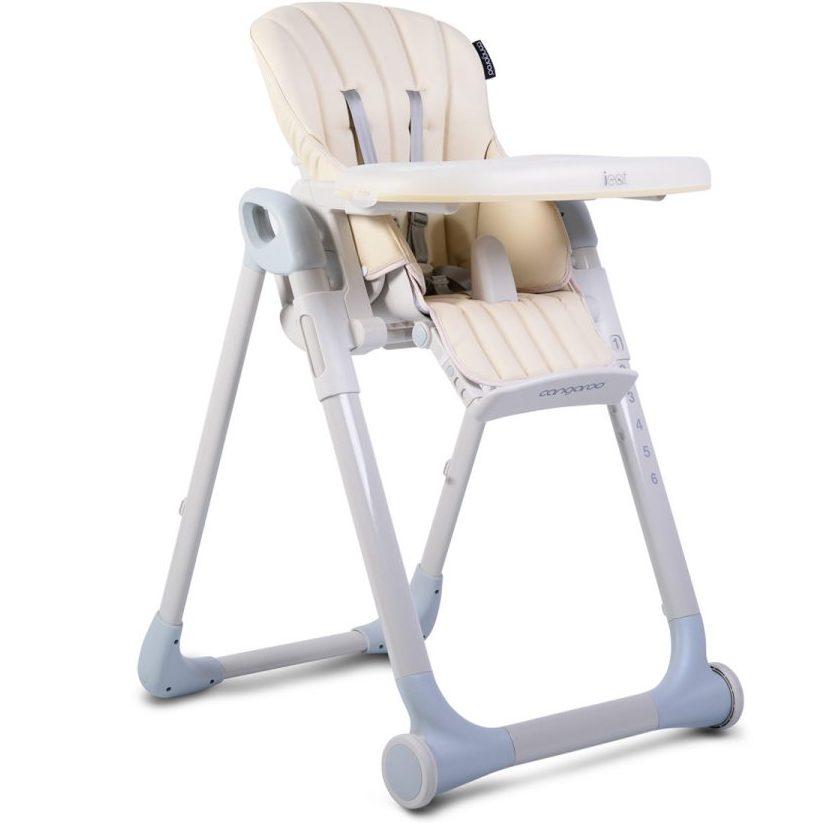 Детски стол за хранене I Eat бежов