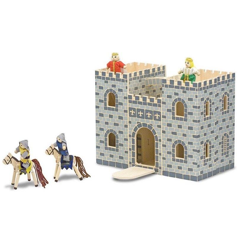 Дървен замък с фигури Melissa and Doug 13702