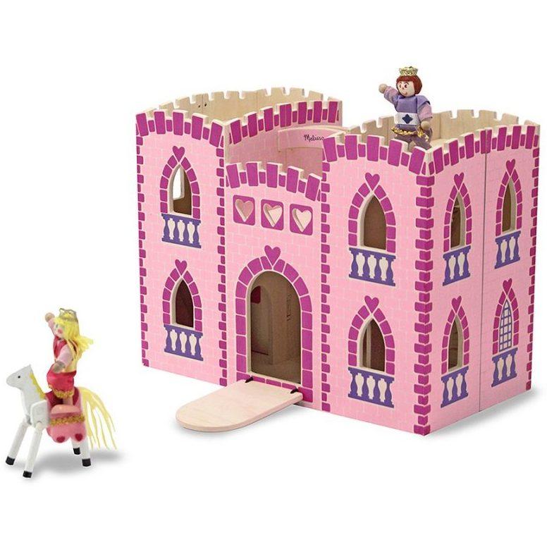 Дървен замък с принцеса Melissa and Doug 13708