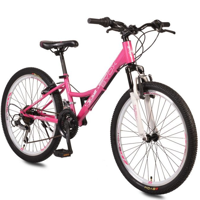 Велосипед със скорости 24″ PRINCESS розов