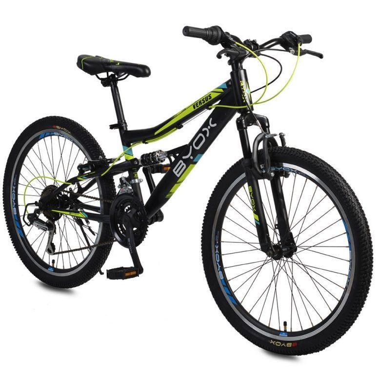 Велосипед със скорости 24″ VERSUS черен