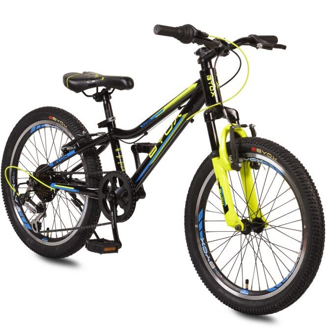 Велосипед със скорости 20″ TUCANA черен