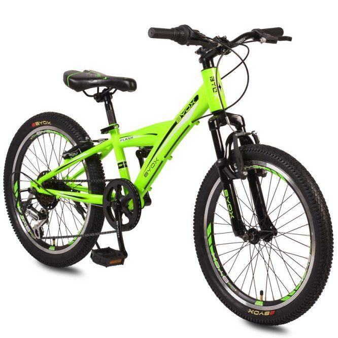 Велосипед със скорости 20″ FLASH зелен