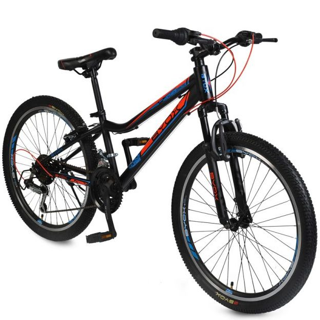 Велосипед със скорости 24″ ZANTE черен