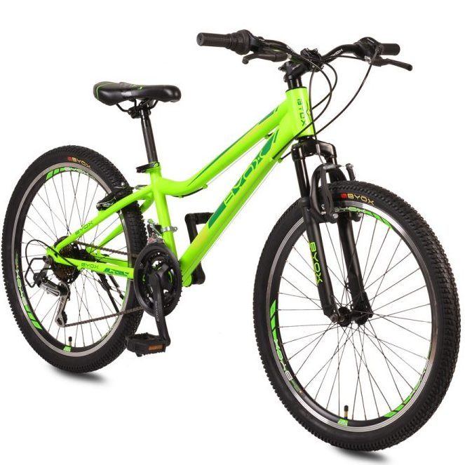 Велосипед със скорости 24″ ZANTE зелен