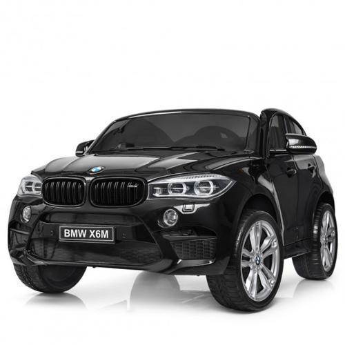Акумулаторен джип BMW X6M металик – JJ2168 черен